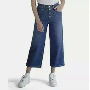 NWT Levis Jeans Mile High Cropped Wide High Rise 4